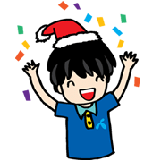 dtac Celebration Sticker for LINE & WhatsApp | ZIP: GIF & PNG