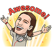 Alesso Audio Stickers Sticker for LINE & WhatsApp | ZIP: GIF & PNG