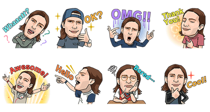 Alesso Audio Stickers Line Sticker GIF & PNG Pack: Animated & Transparent No Background | WhatsApp Sticker