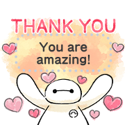 Big Hero 6 Message Stickers Sticker for LINE & WhatsApp | ZIP: GIF & PNG