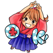 Chihayafuru Sticker for LINE & WhatsApp | ZIP: GIF & PNG