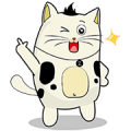 Chit Chat with BaoBao Sticker for LINE & WhatsApp | ZIP: GIF & PNG