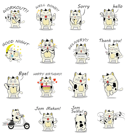 Chit Chat with BaoBao Line Sticker GIF & PNG Pack: Animated & Transparent No Background   WhatsApp Sticker