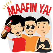 Coca-Cola : Ramadan Meriah Bersama Sticker for LINE & WhatsApp | ZIP: GIF & PNG