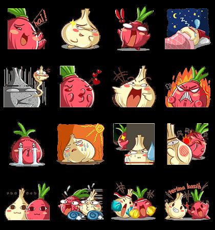 Duwa Wang Line Sticker GIF & PNG Pack: Animated & Transparent No Background | WhatsApp Sticker