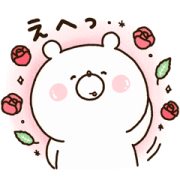 Girly Bear × L'OCCITANE JAPON Sticker for LINE & WhatsApp | ZIP: GIF & PNG