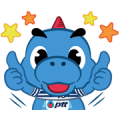 Godji Family Sticker for LINE & WhatsApp | ZIP: GIF & PNG