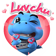 Godji in Love Sticker for LINE & WhatsApp | ZIP: GIF & PNG