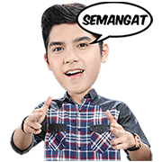 KetupaT IM3 Raisa and Al Ghazali Sticker for LINE & WhatsApp | ZIP: GIF & PNG