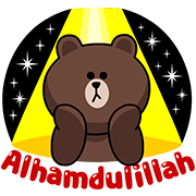 LINE Characters: Festive Ramadhan Days Sticker for LINE & WhatsApp | ZIP: GIF & PNG