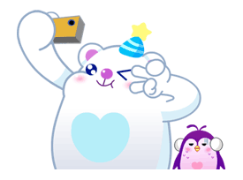 LINE IceQpick Sticker for LINE & WhatsApp | ZIP: GIF & PNG