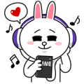 LINE MUSIC Special Sticker for LINE & WhatsApp | ZIP: GIF & PNG
