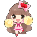 LINE PLAY Cherry's Sweet Day Sticker for LINE & WhatsApp | ZIP: GIF & PNG