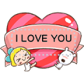 Lemon & Sugar Heartfelt Message Sticker Sticker for LINE & WhatsApp | ZIP: GIF & PNG