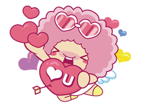 Lover Bowbow (Lover Edition) Sticker for LINE & WhatsApp | ZIP: GIF & PNG