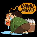 Mbok De's Traditional Herbs Sticker for LINE & WhatsApp | ZIP: GIF & PNG