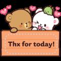 Milk & Mocha Message Stickers (Indo) Sticker for LINE & WhatsApp | ZIP: GIF & PNG