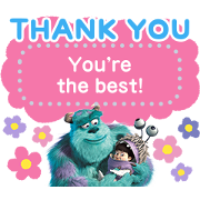 Monsters, Inc. Message Stickers Sticker for LINE & WhatsApp | ZIP: GIF & PNG