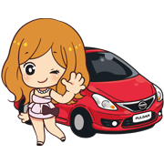 Nissan Innovation Sticker for LINE & WhatsApp | ZIP: GIF & PNG