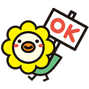 Oricotori: Hi Hi Birdie! Sticker for LINE & WhatsApp | ZIP: GIF & PNG