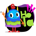PIÑATA BOY Sticker for LINE & WhatsApp | ZIP: GIF & PNG