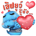 PTT GODJI Sticker for LINE & WhatsApp | ZIP: GIF & PNG