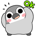 Pesoguin Sticker for LINE & WhatsApp | ZIP: GIF & PNG