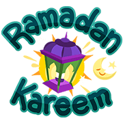Ramadan Kareem! Sticker for LINE & WhatsApp | ZIP: GIF & PNG