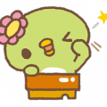 Sabokappa Sticker for LINE & WhatsApp | ZIP: GIF & PNG