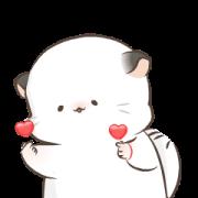 Simao and Bamao 7: Heartfelt Sticker for LINE & WhatsApp | ZIP: GIF & PNG