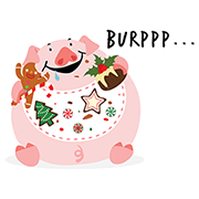 Singaporeans Christmas Edition Sticker for LINE & WhatsApp | ZIP: GIF & PNG