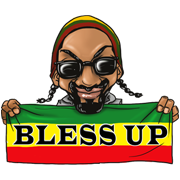 Snoop's Sticky Icky Sticker Set Sticker for LINE & WhatsApp | ZIP: GIF & PNG