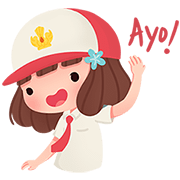 Syerin Saraswati Sticker for LINE & WhatsApp | ZIP: GIF & PNG