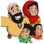 The Shams-Uddins Sticker for LINE & WhatsApp | ZIP: GIF & PNG