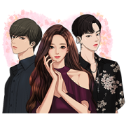 True Beauty Sticker for LINE & WhatsApp | ZIP: GIF & PNG