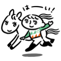 UMAJO Original Stickers Sticker for LINE & WhatsApp | ZIP: GIF & PNG