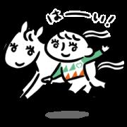 UMAJO Original Stickers Sticker for LINE & WhatsApp   ZIP: GIF & PNG