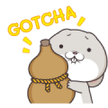 Very Miss Rabbit: Childishness Sticker for LINE & WhatsApp | ZIP: GIF & PNG