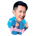 dtac Myanmar and Sai Sai Sticker for LINE & WhatsApp | ZIP: GIF & PNG