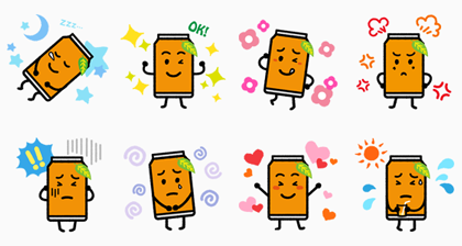 natchan! Line Sticker GIF & PNG Pack: Animated & Transparent No Background | WhatsApp Sticker