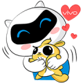 vivo & voonvai: We're Friends Forever Sticker for LINE & WhatsApp | ZIP: GIF & PNG
