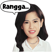 AADC 2014: Cinta & Rangga Stickers Sticker for LINE & WhatsApp | ZIP: GIF & PNG