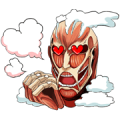 Attack on Titan Sticker for LINE & WhatsApp | ZIP: GIF & PNG