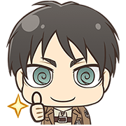 Attack on Titan Chimi-Chara Ver. Sticker for LINE & WhatsApp | ZIP: GIF & PNG