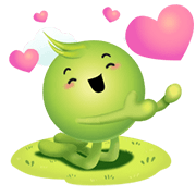 Aunjai : Everyday Special Sticker for LINE & WhatsApp | ZIP: GIF & PNG