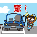 Bear Safety: Vivid and Lively! Sticker for LINE & WhatsApp | ZIP: GIF & PNG
