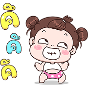 Boobib Pop-Ups 3 Sticker for LINE & WhatsApp | ZIP: GIF & PNG