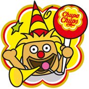 Chupa Chups~Chuck!! Sticker for LINE & WhatsApp | ZIP: GIF & PNG