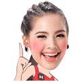 Cutie YAYA by TrueMove H Sticker for LINE & WhatsApp | ZIP: GIF & PNG