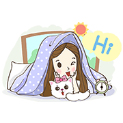 Cutie and Friends Sticker for LINE & WhatsApp | ZIP: GIF & PNG